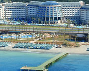 Long Beach Resort Is A 5 Star Hotel In Turkler Mevkil And Suitable For Seniors S Families With Children The Has Its Own Private Sandy